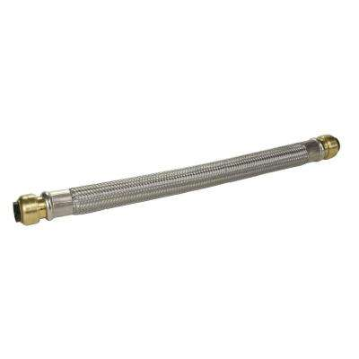 1/2 in. Push-to-Connect x 1/2 in. Push-to-Connect x 18 in. Braided Stainless Steel Repair Hose