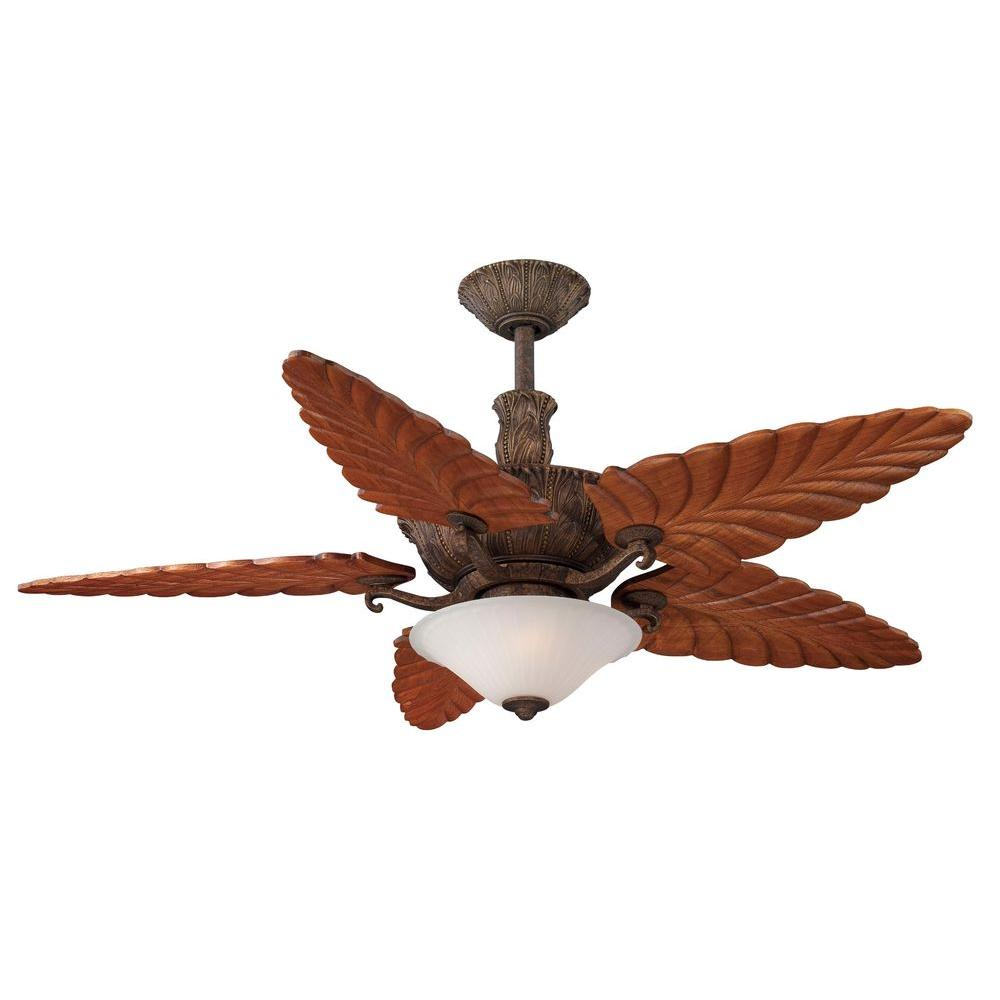 Hampton Bay Chantelle II 52 in. New Tortoise Shell Ceiling Fan