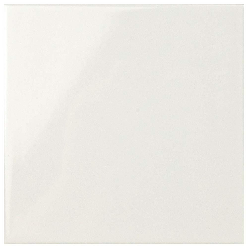 Merola Tile Magical Evolution Glossy White 5 7 8 In X