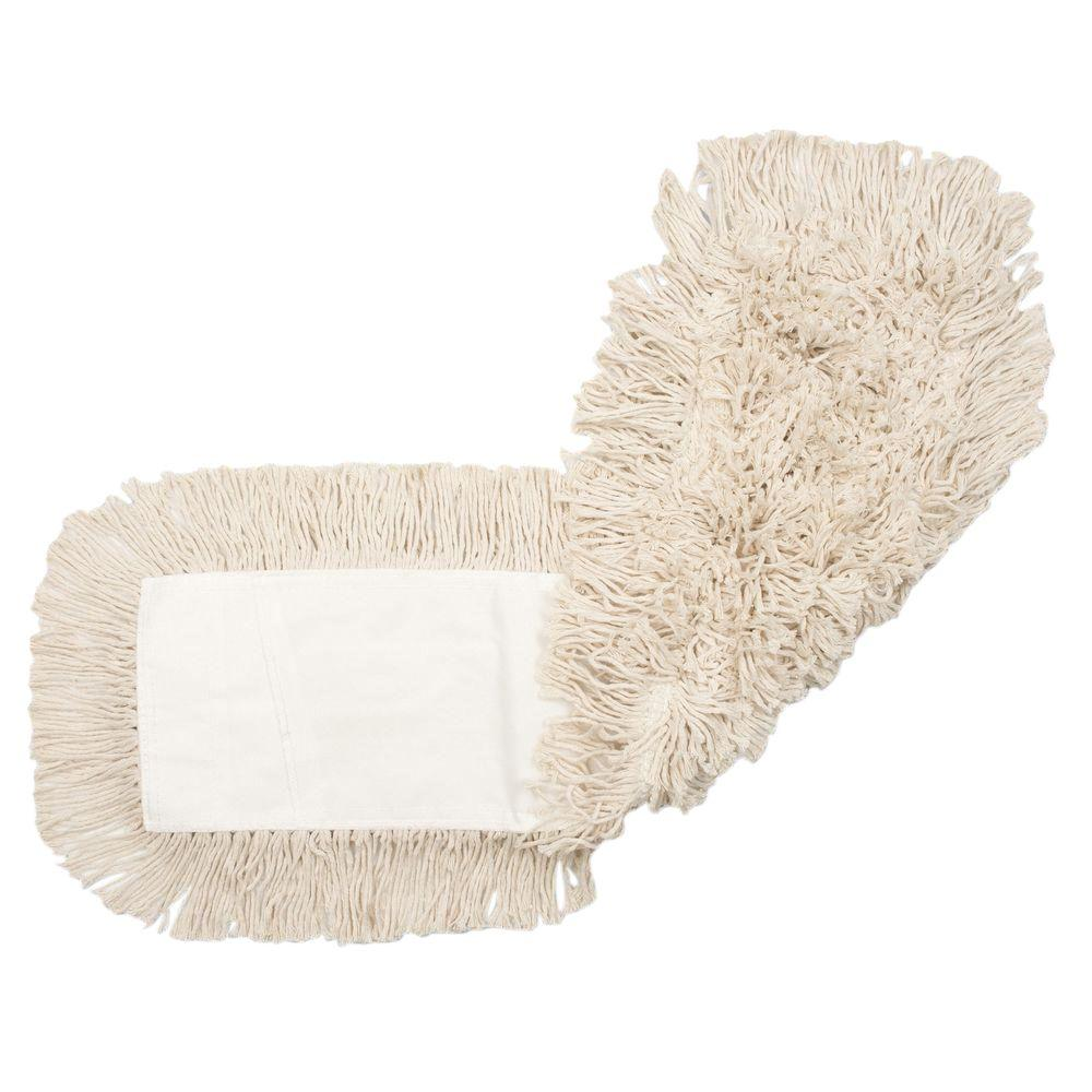 48 in. W x 5 in. D Disposable Dust Cotton Mop