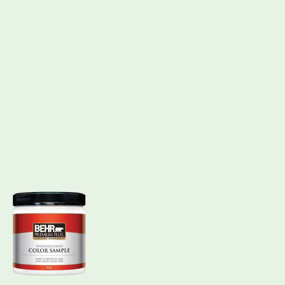 BEHR Premium Plus 8 oz. #440A-2 Sea Cap Interior/Exterior Paint Sample
