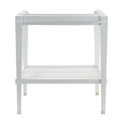 Townsend Washstand 30 in. Bath Vanity Cabinet Only in White
