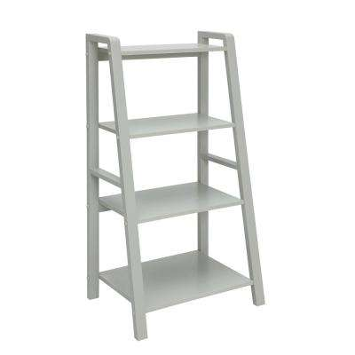 Charles London Grey Small Office Bookcase