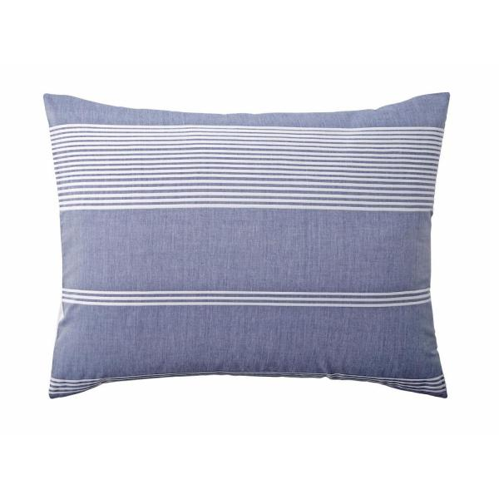 cotton 2 king pillowcases coral stripe