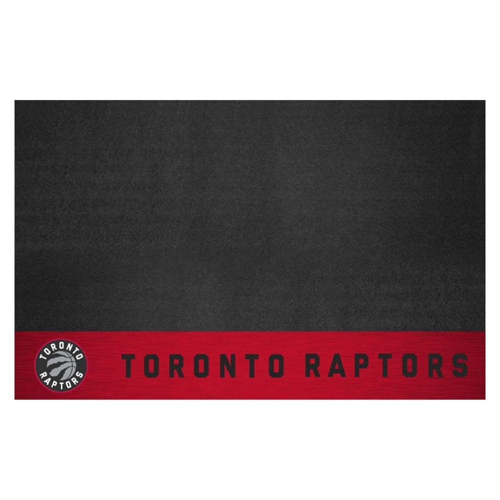 Fanmats Nba Toronto Raptors 26 In X 42 In Grill Mat