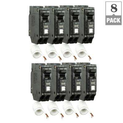 Q Line 15 Amp Single-Pole Arc Fault Combination Circuit Breaker (8-Pack)