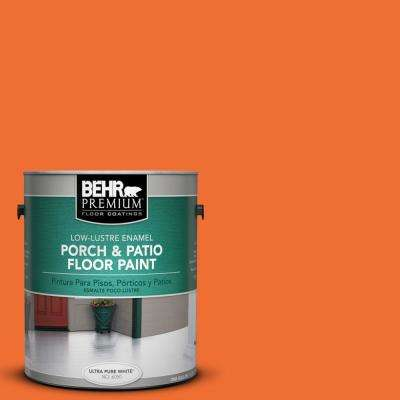 1 gal. #S-G-240 Dragon Fire Low-Lustre Porch and Patio Floor Paint