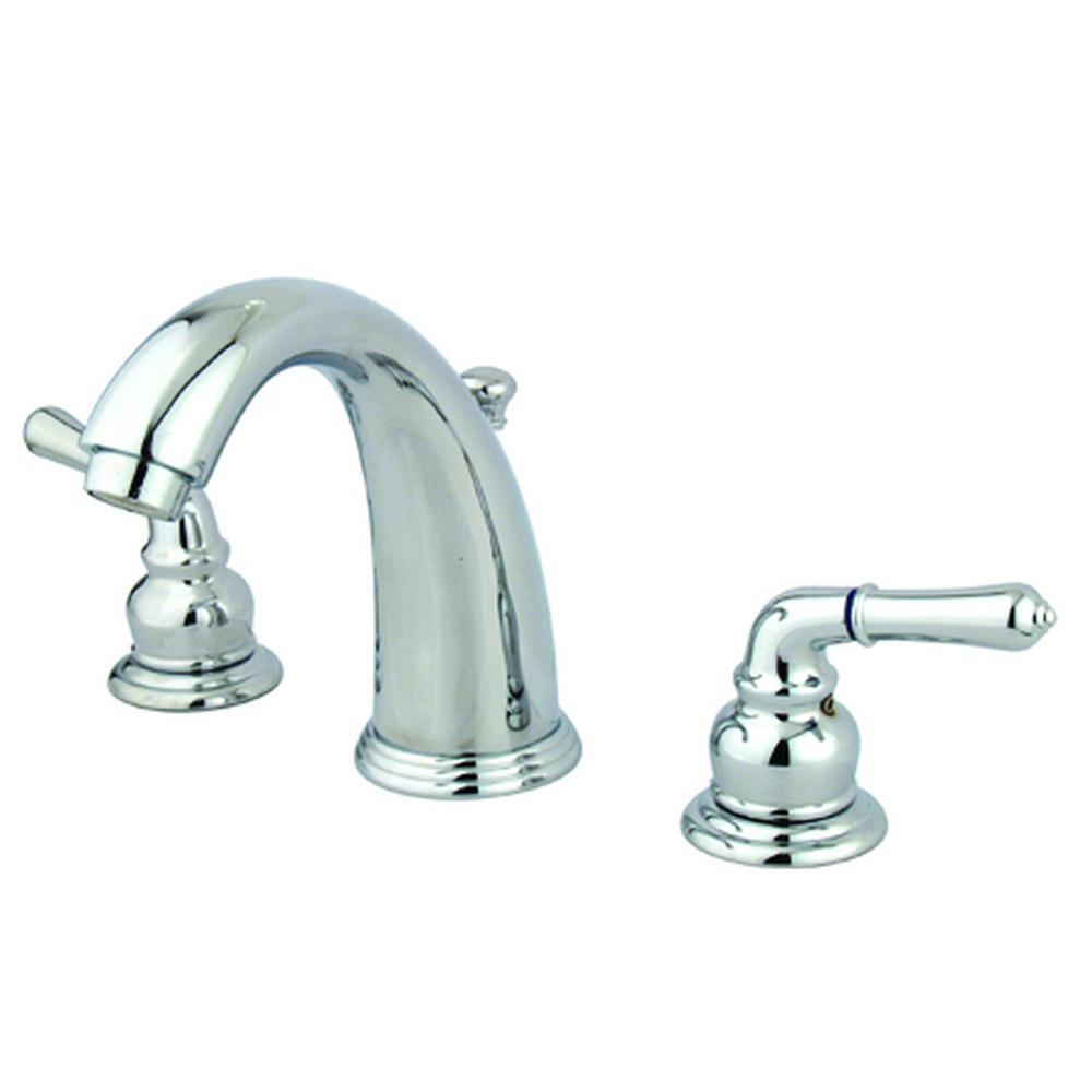 Brimfield 8 in. Widespread 2-Handle Bathroom Faucet in Chrome