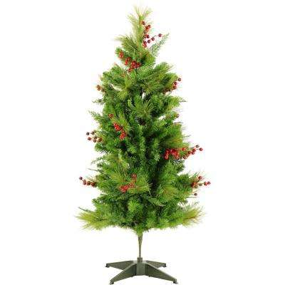 4 ft. Newberry Pine Artificial Tree