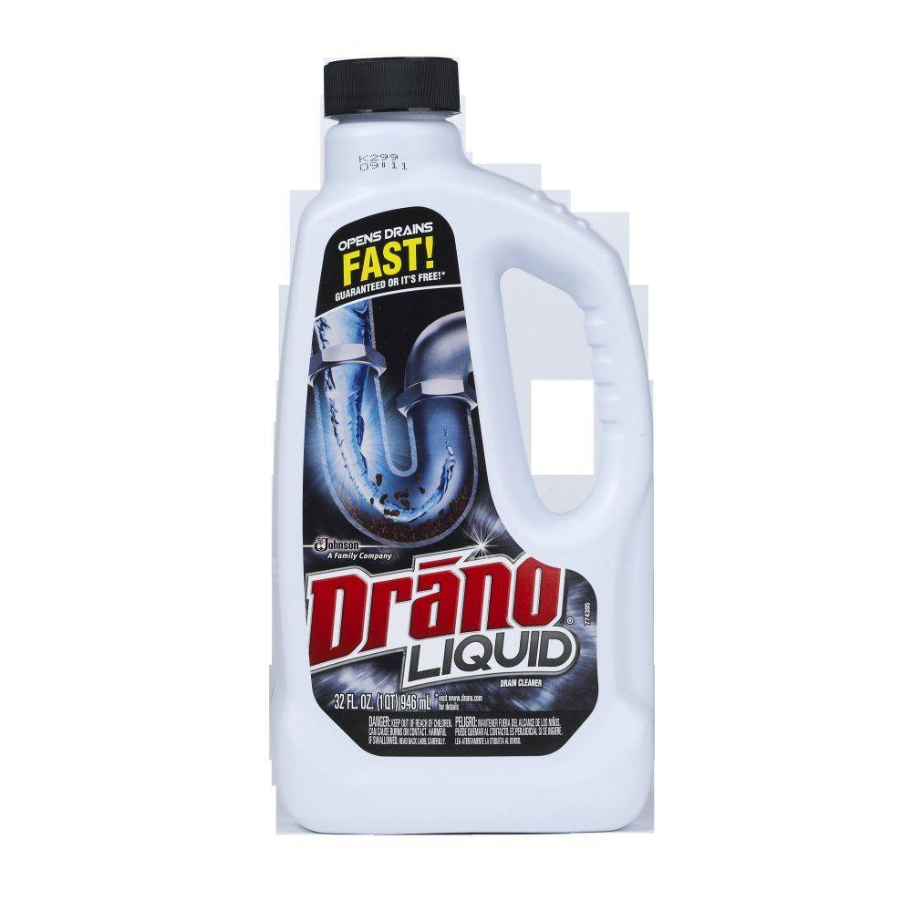 drano 32 oz. liquid drain cleaner (12-pack)-00116 - the home depot