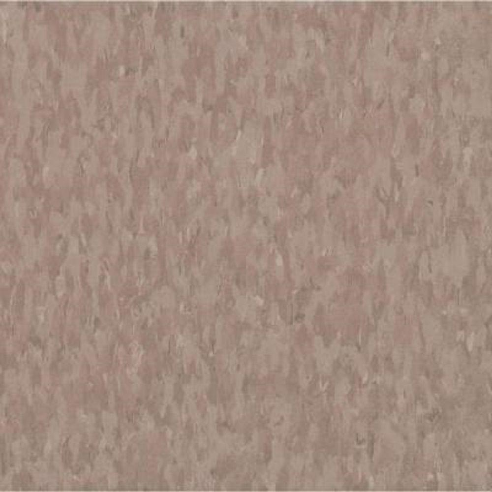 Armstrong Take Home Sample - Imperial Texture VCT Rose Hip Commercial Vinyl Tile - 6 in. x 6 in.