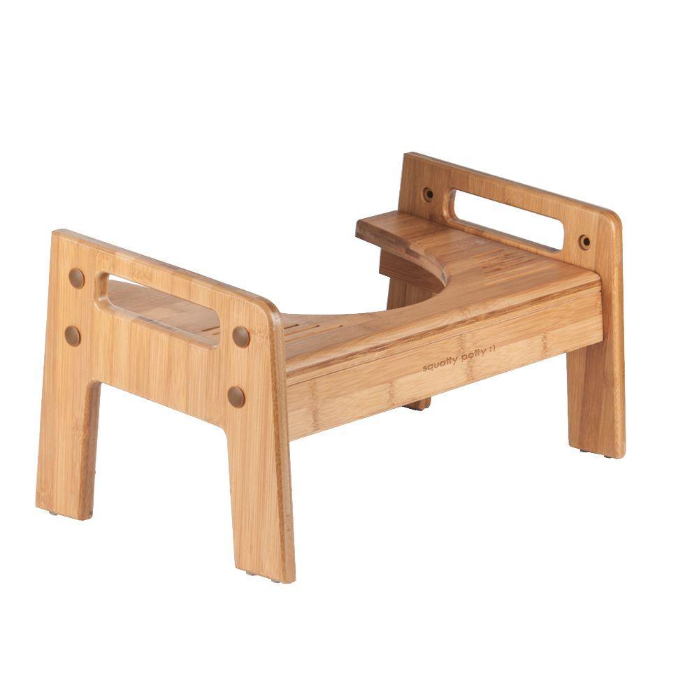 Diy Squatty Potty Stool: Squatty Potty Tao Bamboo Adjustable Wood Toilet Stool-sp-b