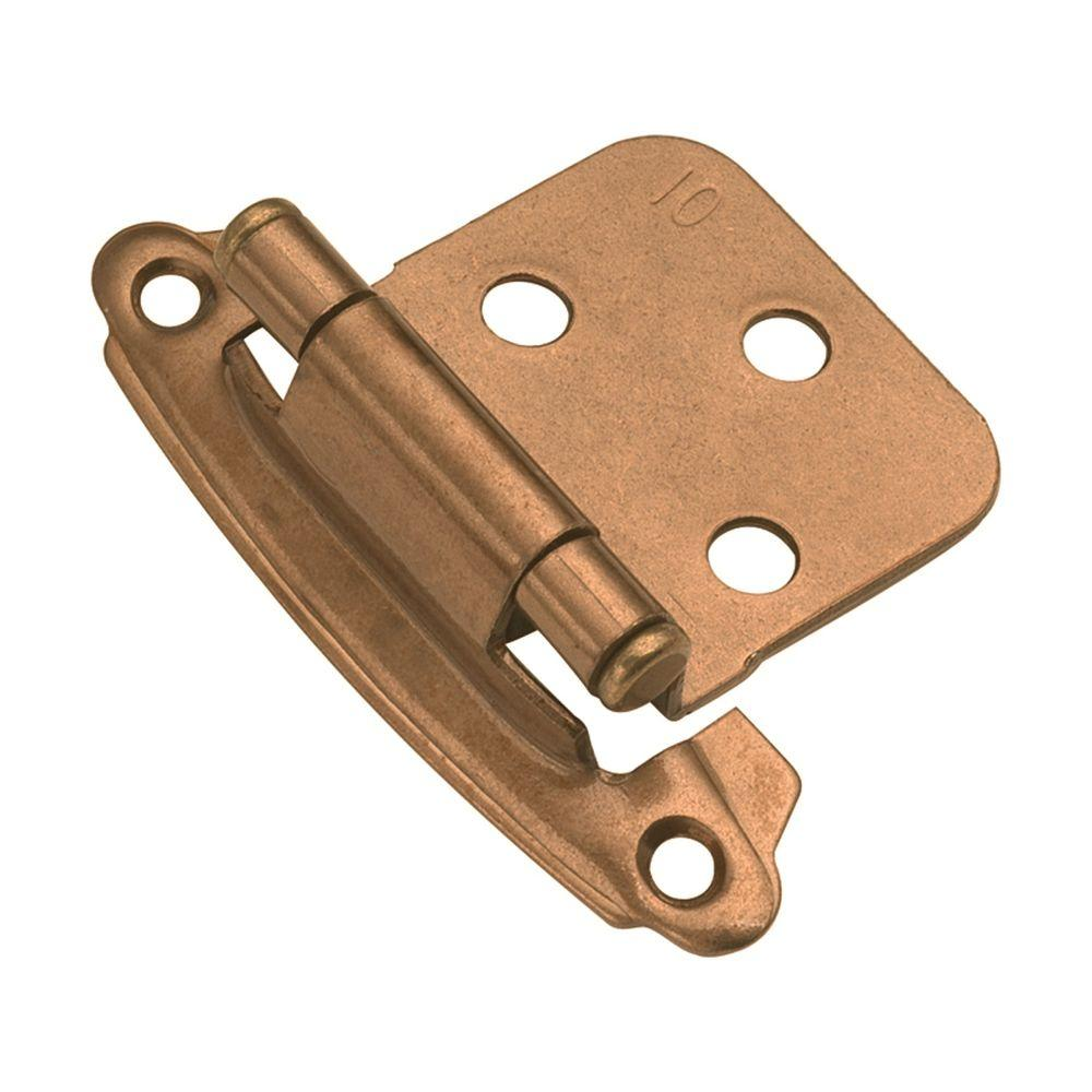 Hickory Hardware 1-14/15 in. x 2-5/8 in. Windover Antique Surface  Self-Closing Hinge (2-Pack)-P244-WOA - The Home Depot - Hickory Hardware 1-14/15 In. X 2-5/8 In. Windover Antique Surface
