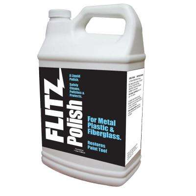 128 oz. Metal, Plastic and Fiberglass Liquid Polish