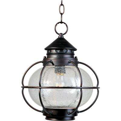 Portsmouth Oil-Rubbed Bronze Outdoor Hanging Lantern