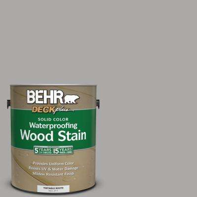 1 gal. #PFC-68 Silver Gray Solid Color Waterproofing Wood Stain