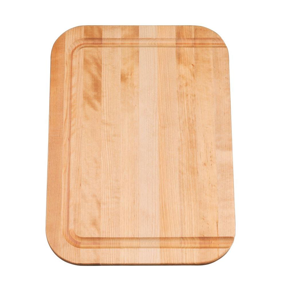 KOHLER Cadence 12 in. x 17 in. Wood Cutting Board