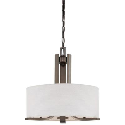 Pendenza 3-Light Oiled Bronze Chandelier
