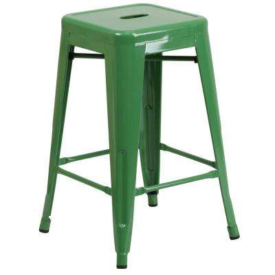 Green - Bar Stools - Kitchen & Dining Room Furniture - The Home Depot