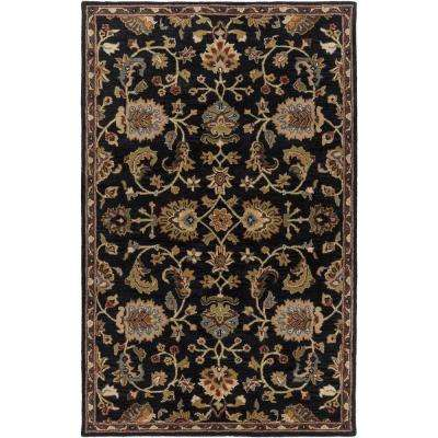 Middleton Mallie Black 8 ft. x 10 ft. Indoor Area Rug