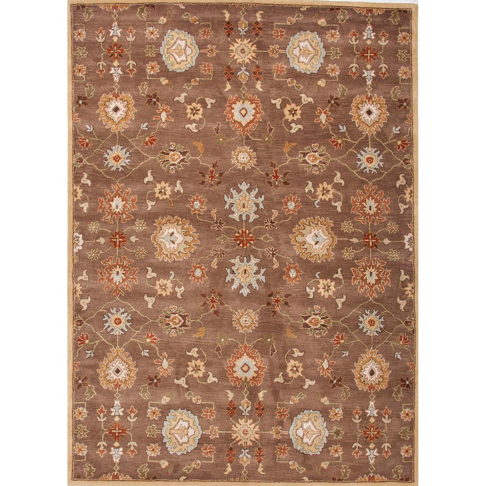 Hand-Tufted Brindle 4 ft. x 6 ft. Oriental Area Rug
