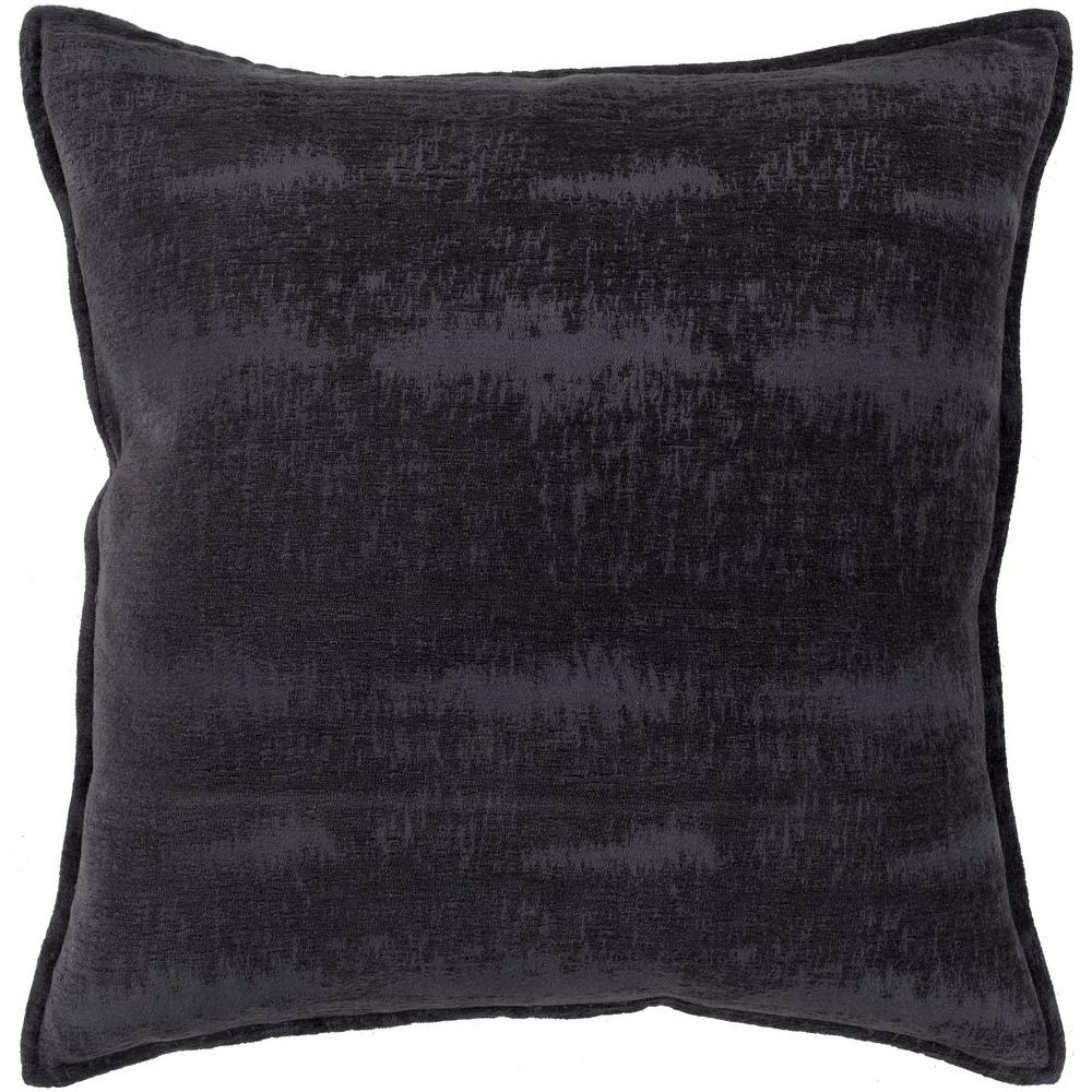Copacete 20 in. x 20 in. Navy Solid Down Standard Throw Pillow