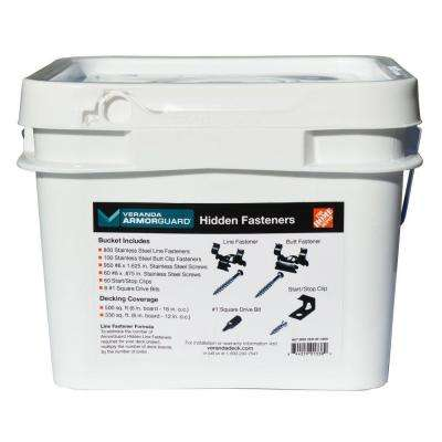ArmorGuard Hidden Deck Fastener Bucket (900 per Count)