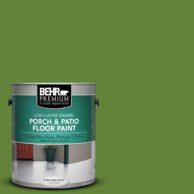 1 gal. #P370-7 Sun Valley Low-Lustre Porch and Patio Floor Paint