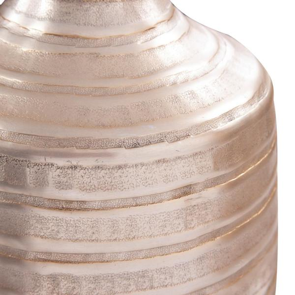Chiseled Champagne Small Cylinder Vase 35207 The Home Depot