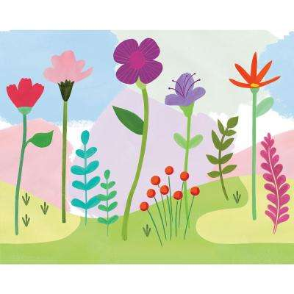 Happy Poppy Mural
