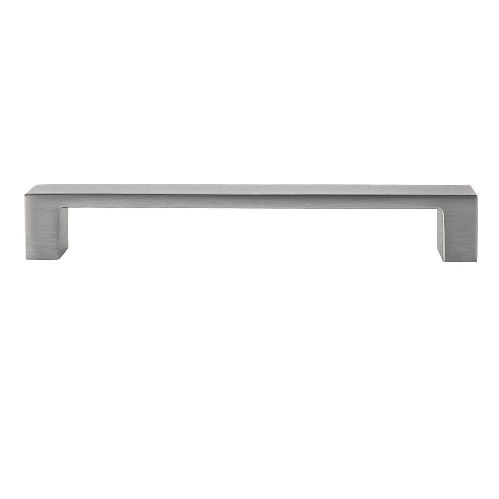 Sumner Street Home Hardware Redmond 5-1/4 in. Satin Nickel Drawer Pull (10-Pack)