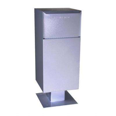 Centralized Mail and Package Delivery Vault Mailbox, Gray