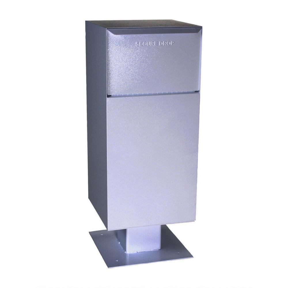 Deposit Vault with Pedestal in Gray
