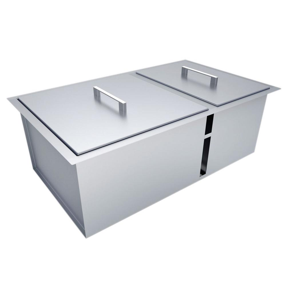 Height Double Basin Sink With