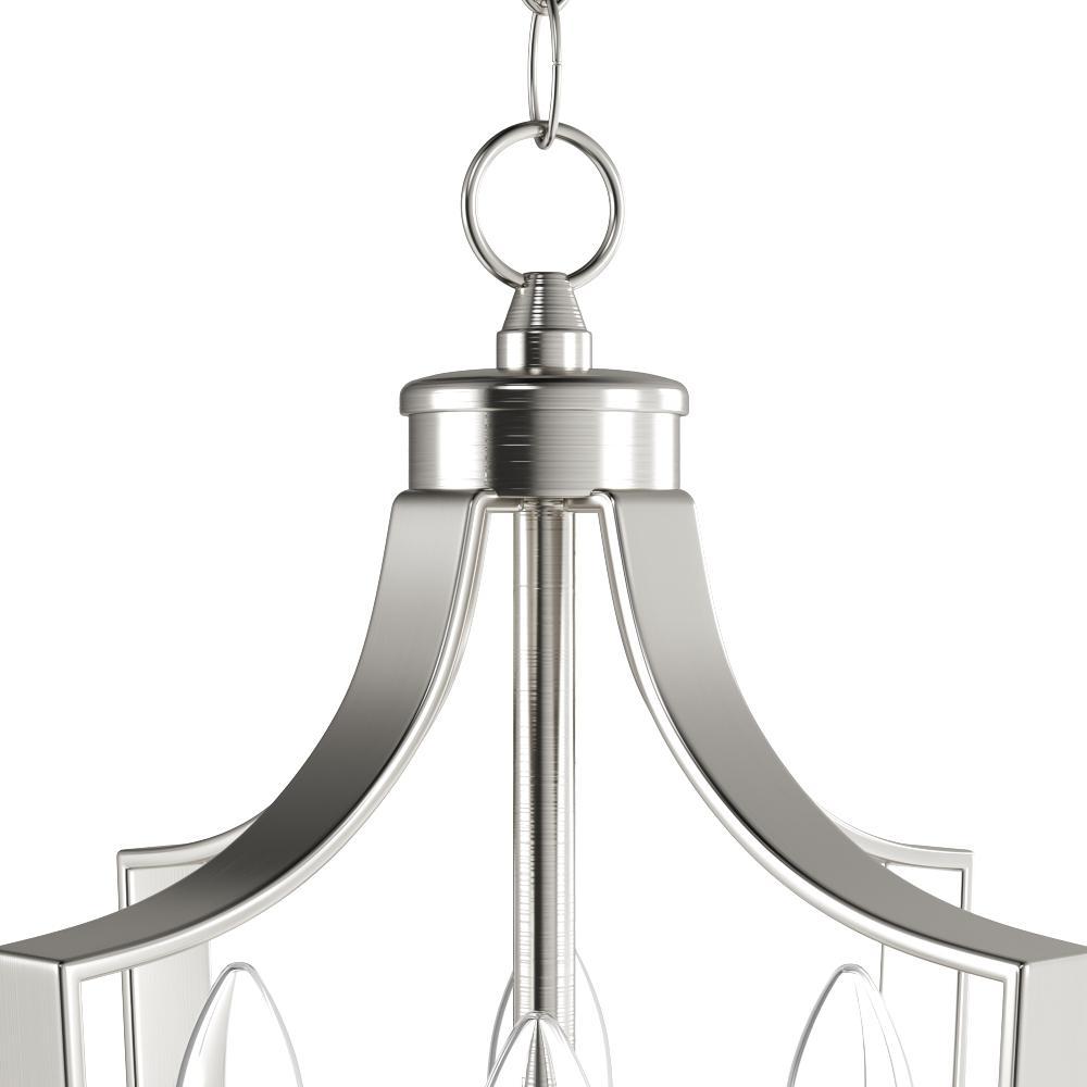 Light Brushed Nickel Pendant