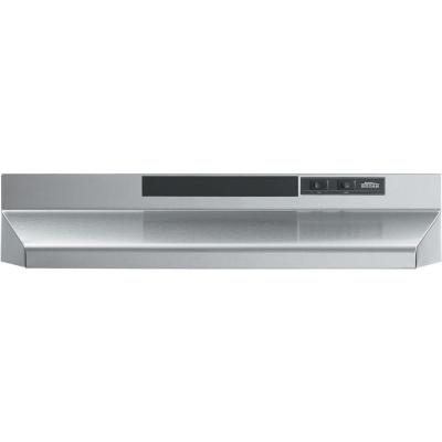 F40000 Series 42 in. Convertible Under Cabinet Range Hood with Light in Stainless Steel