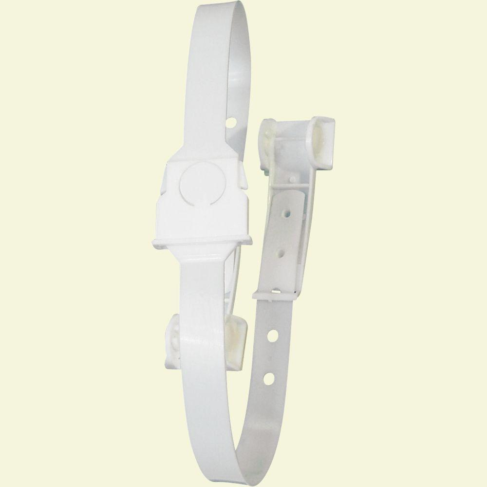 Prime-Line White Toilet Lid Safety Lock