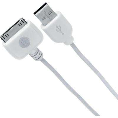 6 ft. Docking Cable to USB 2.0 - White