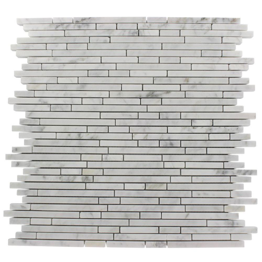 Ivy Hill Tile Windsor Random Oriental 12 in. x 12 in. x 8 mm Marble Floor and Wall Tile