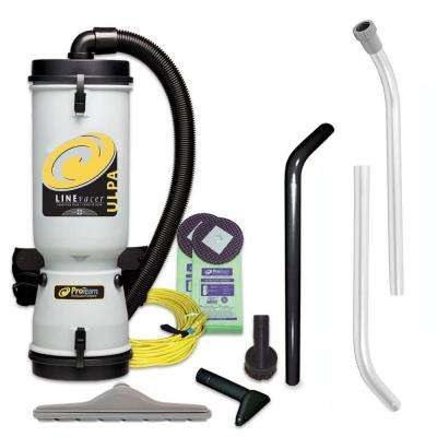 LineVacer ULPA 10 qt. Backpack Vac with High Filtration Tool Kit
