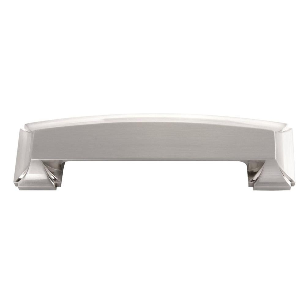 Bridges 3 in. Satin Nickel Cabinet Cup Pull