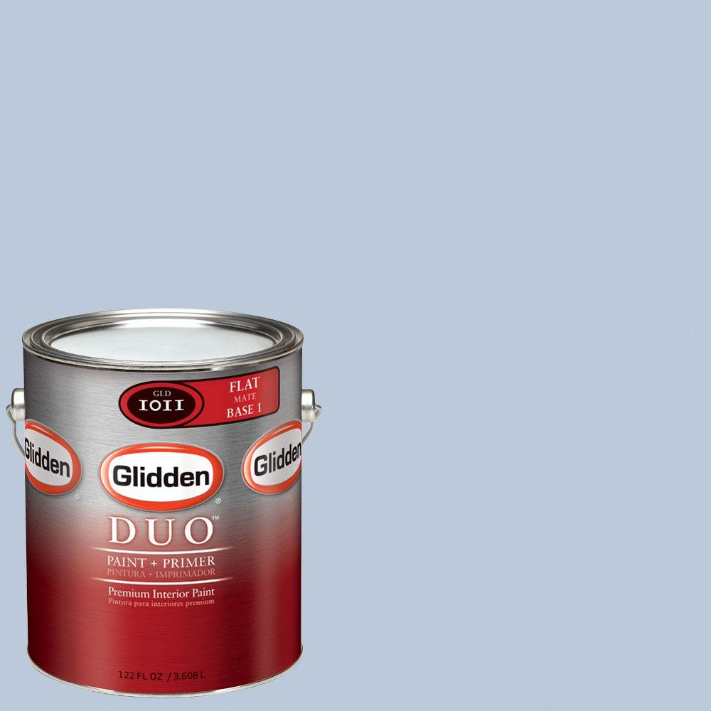 Glidden DUO Martha Stewart Living 1-gal. #MSL145-01F Muscari Flat Interior Paint with Primer-DISCONTINUED