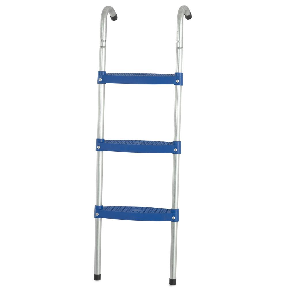 Trampoline Ladder With 3 In. W Flat Step