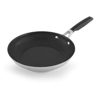 Select 10 in. Stainless Steel Nonstick Fry Pan