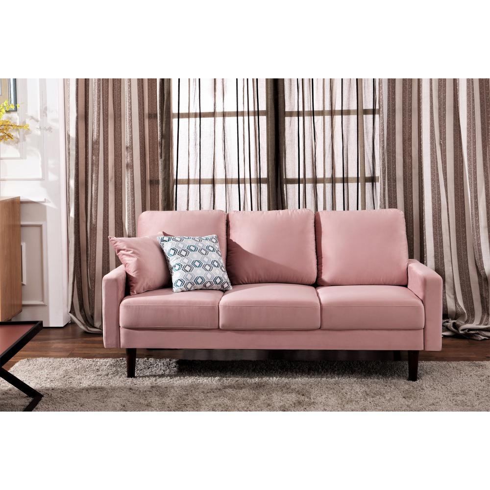 Us Pride Furniture Josiah Velvet Sofa