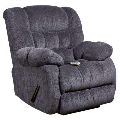 Massaging Columbia Indigo Blue Microfiber Rocker Recliner ...  sc 1 st  The Home Depot & Recliner - Chairs - Living Room Furniture - The Home Depot islam-shia.org