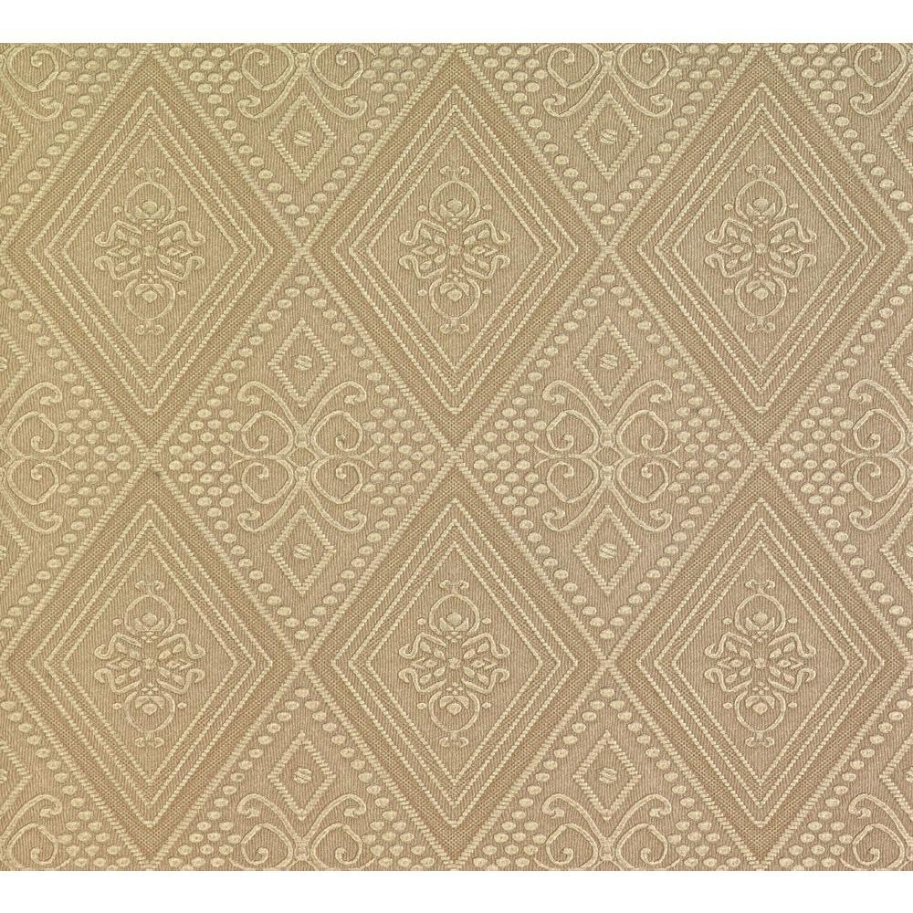 Spazio Nicolo Gold Ornate Diamond Wallpaper
