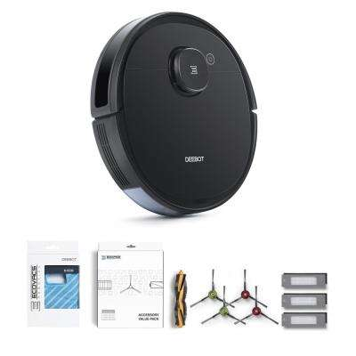 DEEBOT OZMO 950 Robotic Vacuum Cleaner with Service Kit and Mopping Pads