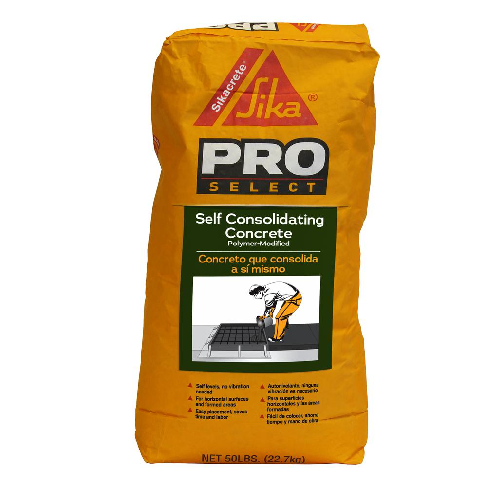 Self consolidating concrete products