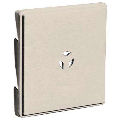 6.625 in. x 6.625 in. # 048 Almond Triple 3 Surface Universal Mounting Block